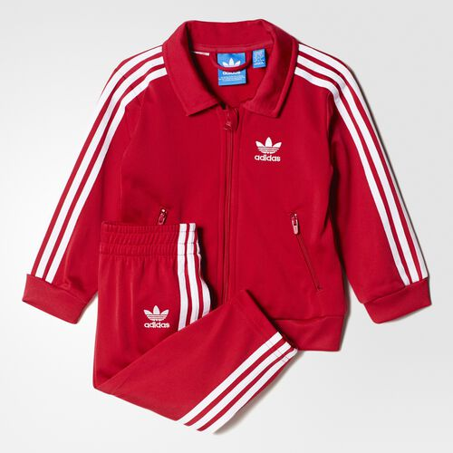 adidas - Firebird Track Suit Unity Pink  /  White AY2778