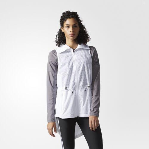 adidas - Climastorm Vest White  /  Black BQ1901