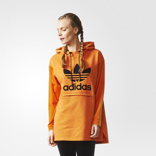 adidas - Brklyn Heights Long Hoodie Tactile Orange CF1173