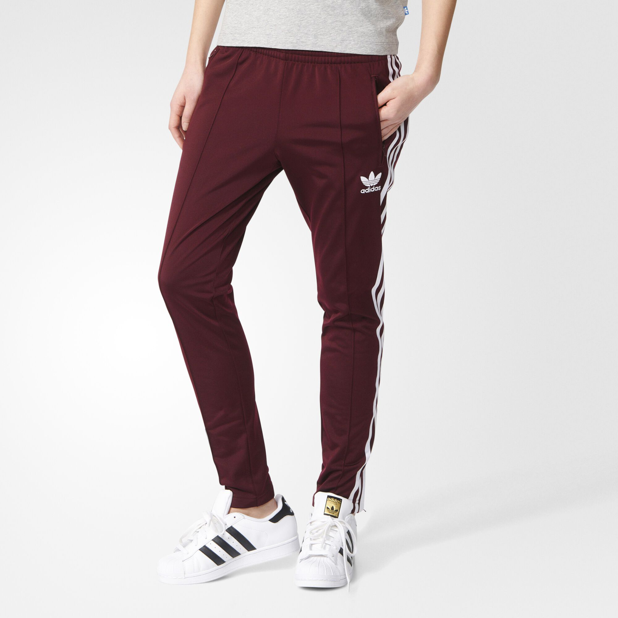 Maroon Pants Brown Shoes