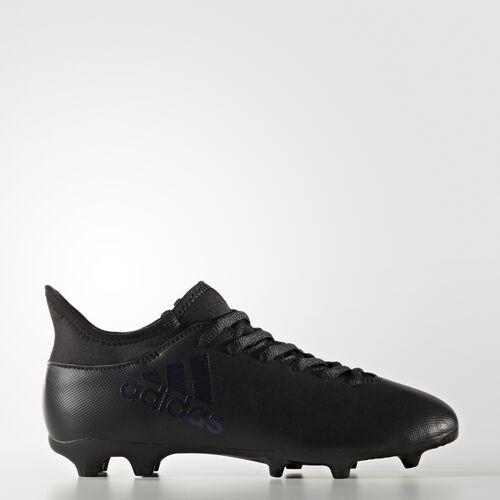 adidas - X 17.3 Firm Ground Cleats Core Black  /  Black  /  Utility Black S82371