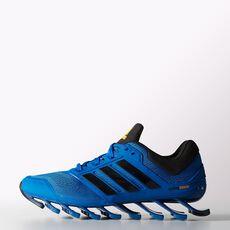 adidas - Springblade Drive Shoes Blue Beauty  /  Black  /  Neon Orange C75961