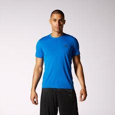 adidas - Clima Ultimate Short Sleeve Tee Blue Beauty  /  Dark Shale G85028