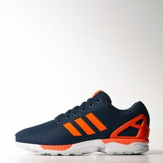 adidas - ZX Flux Shoes Blue  /  Infrared  /  Running White M21326