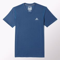 adidas - Ultimate V-neck Tee Vista Blue M35437