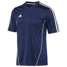 adidas - Estro 12 Short Sleeve Jersey Blue  /  White X20951