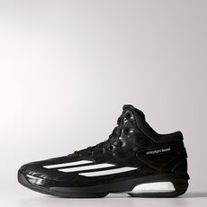 adidas - Crazylight Boost Shoes Core Black  /  Running White  /  Black C75901