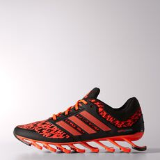 adidas - Springblade Drive Shoes Solar Red  /  Black  /  Metallic Silver C77551
