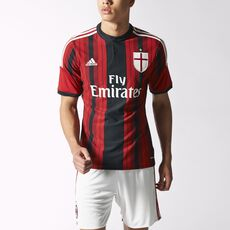 adidas - AC Milan Replica Home Player Jersey Black D87224