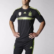 adidas - Spain Away Jersey Black F39821