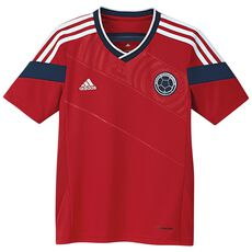 adidas - Colombia Away Jersey Power Red  /  Collegiate Navy G74474