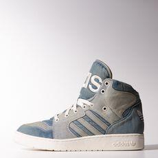 adidas - Jeremy Scott Instinct Hi Denim Shoes Night Marine M29026