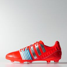 adidas - Nitrocharge 2.0 FG Cleats Solar Red  /  Metallic Silver  /  Running White M29849