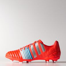 adidas - Nitrocharge 3.0 FG Cleats Solar Red  /  Metallic Silver  /  Running White M29898