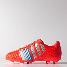 adidas - Nitrocharge 3.0 FG Cleats Solar Red  /  Metallic Silver  /  Running White M29903