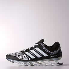 adidas - Springblade Drive Shoes Running White Ftw  /  Black  /  Metallic Silver C77553