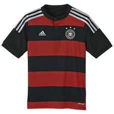 adidas - Germany Away Jersey Black  /  Victory Red  /  Matte Silver G74524