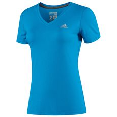 adidas - Ultimate Tee Solar Blue  /  Matte Silver D89940