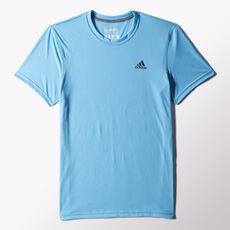 adidas - Clima Ultimate Short Sleeve Tee Bright Cyan S24861