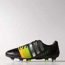 adidas - Nitrocharge 1 SG Shoes Core Black  /  Metallic Silver  /  Neon Orange M17738