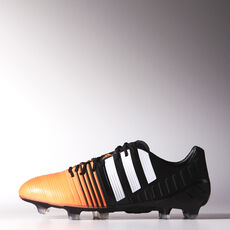 adidas - Nitrocharge 1 FG Cleats Core Black  /  Running White  /  Flash Orange M19051