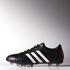 adidas - 11 Pro FG Cleats Core Black  /  Running White  /  Flash Orange M21372
