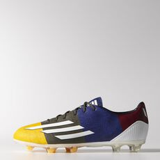 adidas - F30 FG Messi Cleats Solar Gold  /  Running White  /  Earth Green M21784