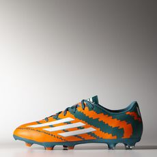 adidas - Messi 10.3 FG Cleats Power Teal  /  Running White  /  Warning M29570