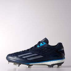 adidas - Energy Boost Icon Cleats Collegiate Navy  /  Tech Grey Metallic  /  Solar Blue D74249