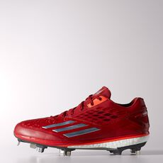 adidas - Energy Boost Icon Cleats Power Red  /  Tech Grey Metallic  /  Infrared D74251