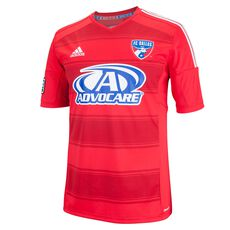 adidas - FC Dallas Replica Home Team Jersey Scarlet  /  White G82144