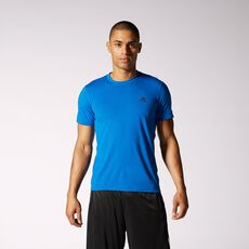 adidas - Clima Ultimate Short Sleeve Tee Blue Beauty  /  Dark Shale G85028