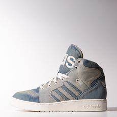 adidas - Jeremy Scott Instinct Hi Denim Shoes Night Marine M29026