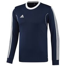 adidas - Squadra13 Long Sleeve Jersey Blue  /  White X57977