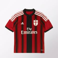 adidas - AC Milan Replica Home Player Youth Jersey Black D87244