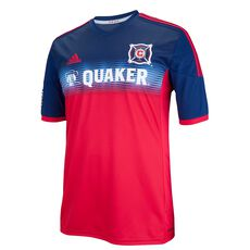 adidas - Fire Replica Home Team Jersey Bold Red  /  New Navy G82125