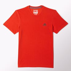 adidas - Clima Ultimate Short Sleeve Tee Solar Red  /  Solid Grey M64310