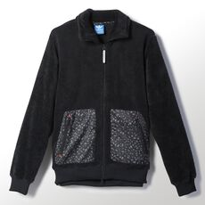 adidas - Adventure Fleece Superstar Track Jacket Black M69358