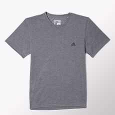 adidas - Clima Ultimate Short Sleeve Tee Dark Grey Heather  /  Black O22570