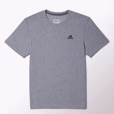 adidas - Clima Ultimate Short Sleeve Tee Medium Grey Heather  /  Dark Shale O22571