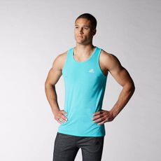 adidas - Ultimate Tank Top Vivid Mint  /  Matte Silver S08858