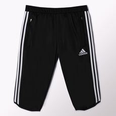 adidas - Tiro 13 Three-Quarter Pants Black  /  White W55885