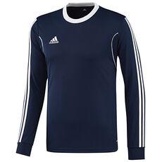 adidas - Squadra13 Long Sleeve Jersey Blue  /  White X57977