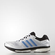 adidas - Supernova Glide Boost 7 Shoes Running White Ftw  /  Lucky Blue  /  Black B35996