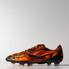 adidas - 11 Pro Crazylight FG Cleats Core Black  /  Neon Orange  /  Infrared M17740