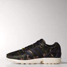 adidas - ZX Flux Shoes Core Black  /  Black  /  Light Bone M21062