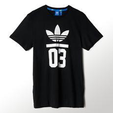 adidas - 3-Stripes Trefoil Tee Black M30252
