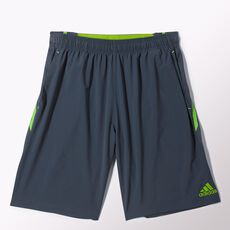 adidas - Ultimate Swat Woven Shorts Bold Onix  /  Semi Solar Green M35250