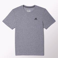 adidas - Clima Ultimate Short Sleeve Tee Medium Grey Heather  /  Dark Shale O22571