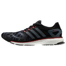 adidas - energy boost m Core Black  /  Lead  /  Hi Res Red Q33958